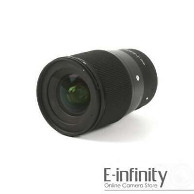 NEW Sigma 16mm f/1.4 DC DN Contemporary Lens for Sony E Mount