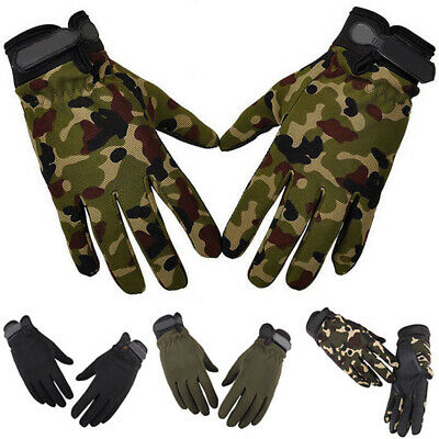 Tactical Mechanics Wear Gloves Men's Army Military Combat Cadets Driving Patrol