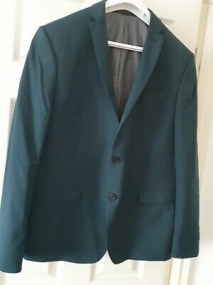 Limehaus  2 Button  Wool Blend Suit Size 44 Regular - 36W - 42L  Trs