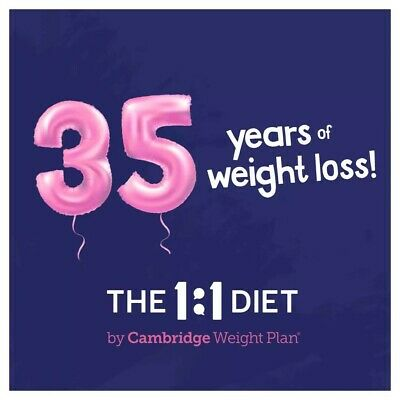 New Day New Career With The 1:1 Diet By Cambridge Weight Plan