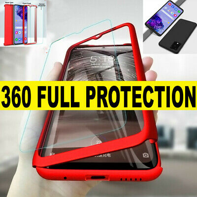 SAMSUNG S20,S20 PLUS,S20 ULTRA 5G CASE Shockproof 360 Ultra Thin FULL Hard Cover