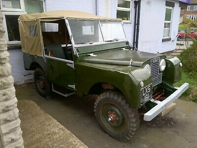 1951 Land Rover Series 1 80 inch Totally Original may consider a P/X