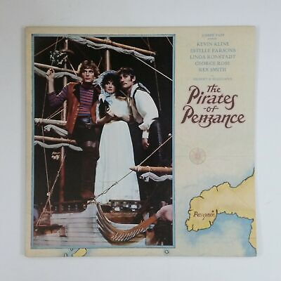 THE PIRATES OF PENZANCE Soundtrack VE601 LP Vinyl VG++ Cover VG++ GF Sleeve