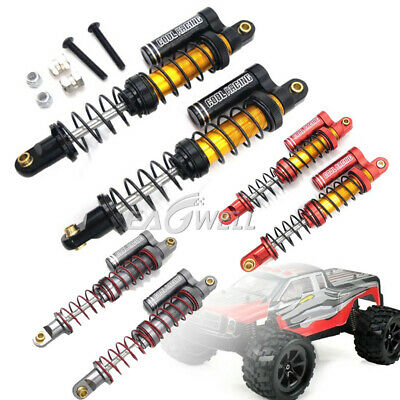 2//4pcs OIL SUSPENSION 95mm ALLOY SHOCKS ABSORBER For RC Axial SCX10 II D90 TRX-4