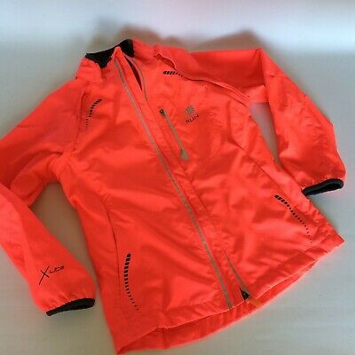 Girls Child's Karrimor XLite running Jacket Age 7-8 With reflective strips