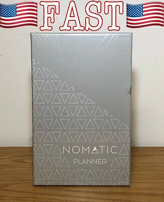 Nomatic Planner-Mint Agenda Whiteboard, Organizer, and Daily Planner Undated