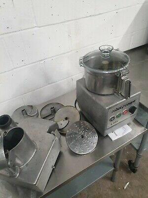 Commercial Robot Coupe R502 Veg Prep Machine Cutter Mixer 5.5 Litres Catering Eq