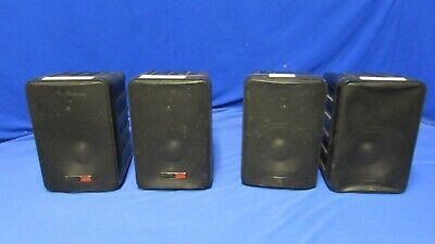 Audix PH5-VS Compact Powered Speaker Black Qty 2 AS IS/ Parts