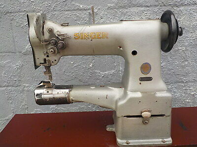 Industrial Sewing Machine Model Singer 154W101 double ndl ,cylinder, Leather