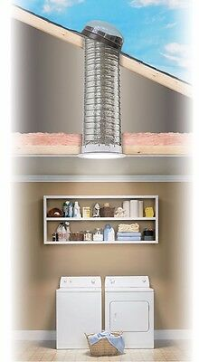 """Velux 21"""" Sun Tunnel 6 Feet Extension Flexible Reflective Tubing Only"""