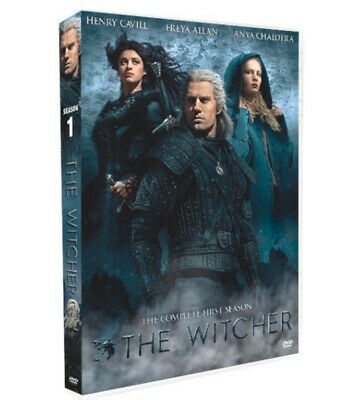 The Witcher DVD Season 1 The Complete First Season