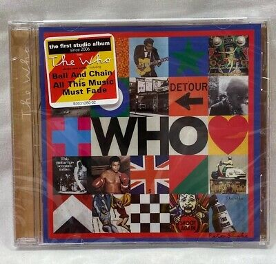 THE WHO - WHO  CD (New Release Music CD 2019) By The WHO -SEALED