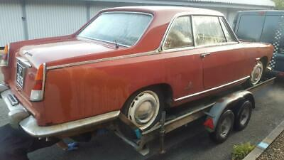 1962 Lancia Flaminia Coupe Project, ex-SA, Starts/drives, Spares, Complete