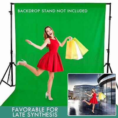 Photo Studio 3x6m Chroma Key Green Screen Backdrop Muslin Background Photography