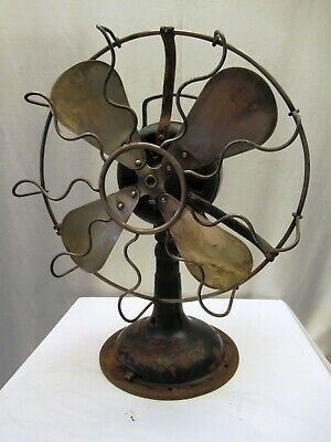 Antique Marelli Fan Table The English Electric Company Ltd Verno Collectibles *3