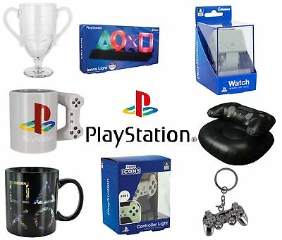 Official Playstation Range Watches Lights Glasses Cups Coasters Novelty Items