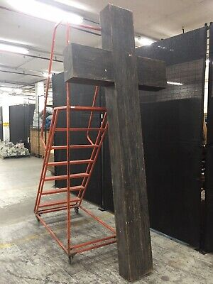 Large Church Cross Commercial Display Church Cross Movie Prop Cross