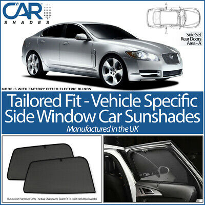 Car Window Sun Blinds Privacy UV Shades Jaguar S Type 4 Door 99-08