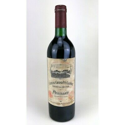 1988 - Chateau Grand Puy Lacoste - Pauillac Bouteille 01