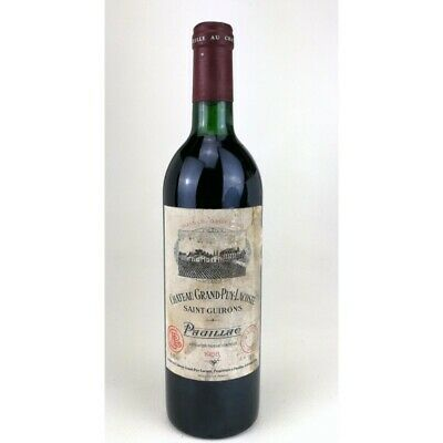 1988 - Chateau Grand Puy Lacoste - Pauillac Bouteille 02