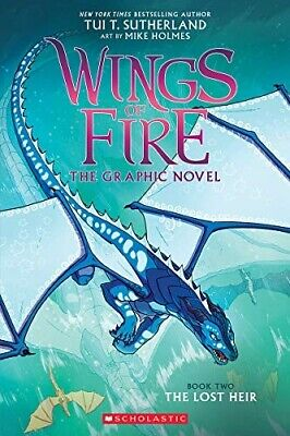 The Lost Heir (Wings of Fire Graphic Novel 2) - New Book Sutherland, Tui T.