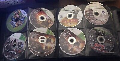 Huge Lot Of 141+Disc Only Games Playstation 3/4 Nintendo Wii/U XBOX 360 Xbox One