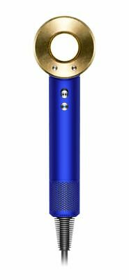 Dyson Official Outlet - Supersonic Hair Dryer, Blue and Gold with Case,