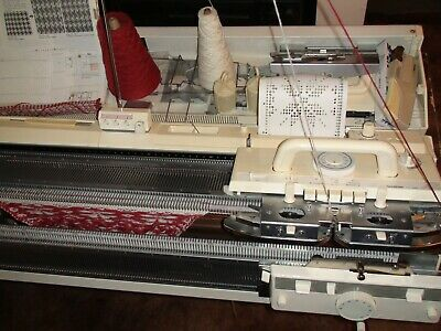 Knitting Machine Brother Kh 892 + 850 Ribber + Kl116A Knit Leader All Great Cond