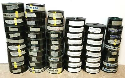Lot of 58 Vintage 35mm Film Movie Trailers - Preview Teasers Scopes