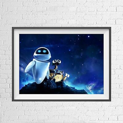DISNEY WALL-E MOVIE PIXAR ANIMATION POSTER PICTURE PRINT Sizes A5 to A0 **NEW**