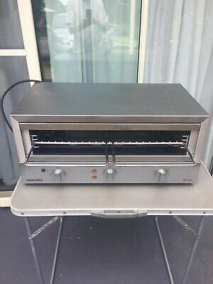 Roband GMX1515 Electric Salamander Toaster Grill - As New