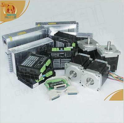 【German Ship 】4Axis Wantai Nema34 Stepper Motor 1232oz,116mm, CNC Cut Engraver