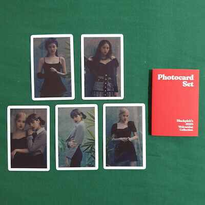 [Photocard Set Only] BlackPink's 2020 Welcoming Collection Kpop Geunine