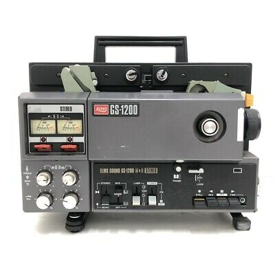 【AS-IS】ELMO Projector 8mm GS1200