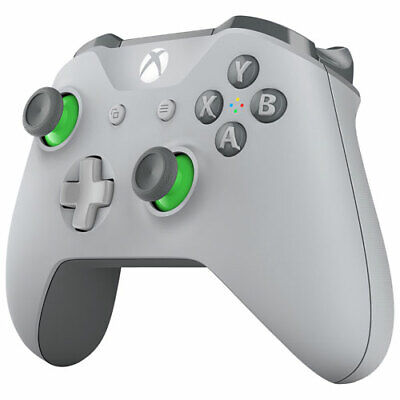 Microsoft Xbox One Wireless Controller Grey/Green WL3-00060