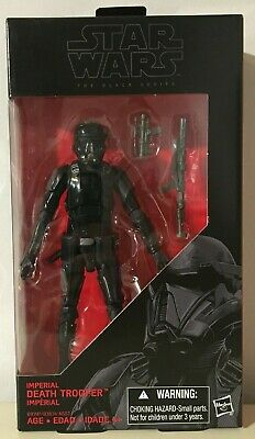 Star Wars Black Series IMPERIAL DEATH TROOPER #25 Brand New