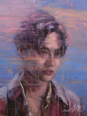 EXO SUHO [자화상/SELF PORTRAIT] 1st Mini Album A Ver. CD+Buch+Fost Karte Set+2Karte