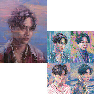 EXO SUHO 자화상/SELF PORTRAIT 1st Mini Album 2 Ver SET+2Buch+2Fost Karte Set+4Karte