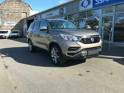 2018 Ssangyong Rexton 2.2TD 4X4 T-Tronic Ultimate Auto. Beige with White Leather