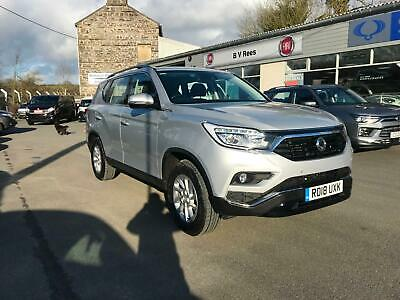 2018 Ssangyong Rexton 2.2TD 4X4 T-Tronic EX Auto in Silver