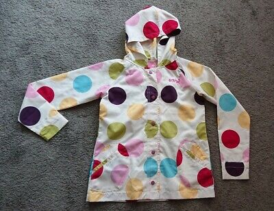 Girls Shower proof Coat Jacket From Animal Age 13-14 ideal for Spring Summer vgc