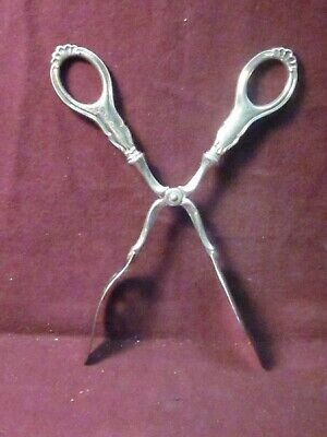 "Norway TH  Marthinsen Sterling  PASTRY  TONGS 8 1/4"" no mono"
