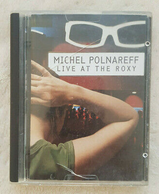 Mini Disc - Michel Polnareff Live At The Roxy Minidisc Md Sony No Cd Dvd