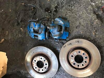 Vauxhall Astra Vxr Front Brake Set Up Braided Lines Discs & Pads 2007 Z20Let 39