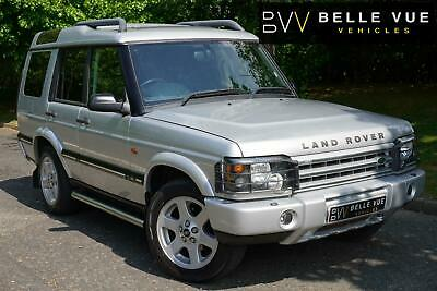 2004 (04) Land Rover Discovery 2.5 Td5 ES Premium Automatic 7 Seater