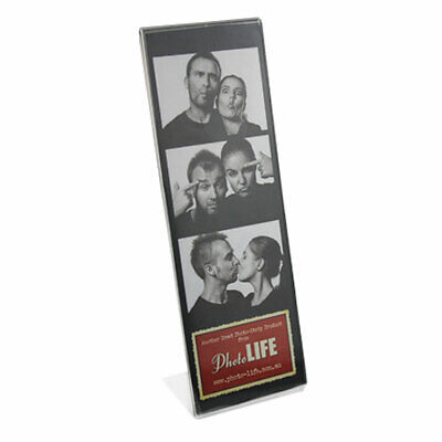 Photo Booth Acrylic Frame L style 2x6 prints 50 pack NEW