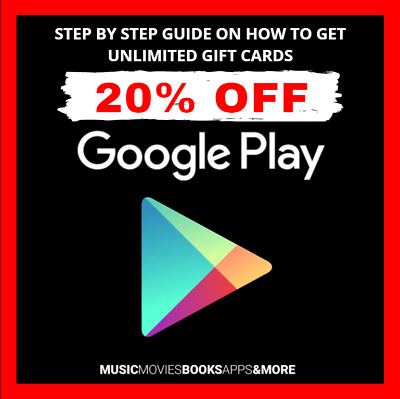 PDF GUIDE ▶️🔥 Get Google Play Store Gift Cards 10-20% OFF Discounted 🔥