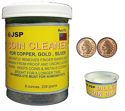 COIN DARKENER & INSTANT CLEANER (us170+us175)