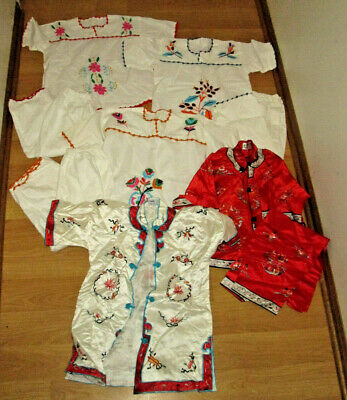 Interesting  Girls Clothing Lot Of Chinese robes, embroidered outfits 4 5 6 ESME