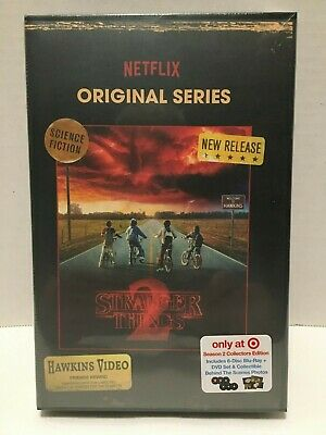 Stranger Things Season 2 Blu-Ray and DVD Collector's Edition